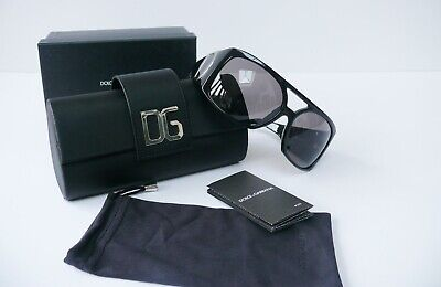 D&G Black Large Sunglasses Brand New In Box