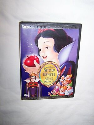 Snow White and the Seven Dwarfs (DVD 2001, 2-Disc Set Platinum Edition) Animated
