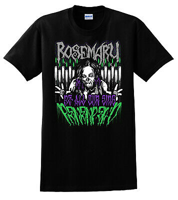 """Official Demon Bunny - Rosemary """"Be All Our Sins Remember'd"""" T-Shirt"""