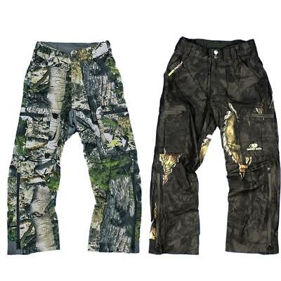 Youth Camouflage Waterproof Trousers Boys / Kids Hunting Fishing Outdoor