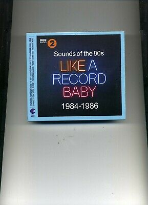 Sounds Of The 80S - Like A Record Baby - Duran Duran Ub40 A-Ha - 3 Cds - New!!