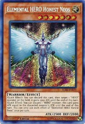 Elemental HERO Honest Neos - BLRR-EN079 - Secret Rare 1st Edition NM