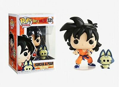 Funko Pop Animation: Dragon Ball Z™ - Yamcha & Puar Vinyl Figures Item #36405
