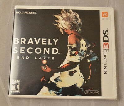 Bravely Second End Layer Nintendo 3DS New Factory Sealed  2016