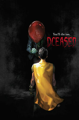 Dceased #1 (Of 6) Horror Variant It Putri Deceased Dc Comic - Nm   5/1/19