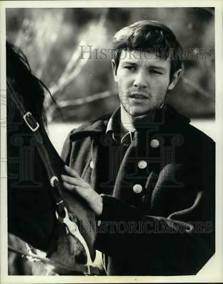 """1966 Press Photo Actor Michael Anderson Jr. on """"The Monroes"""" ABC Television"""