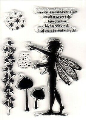 Fairy Clear Stamp Sheet Set, New