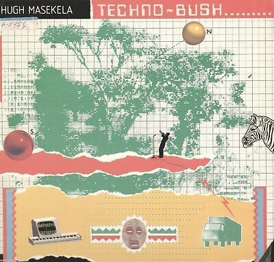 Hugh Maskela Techno Bush VG Quality Vinyl LP Record Album