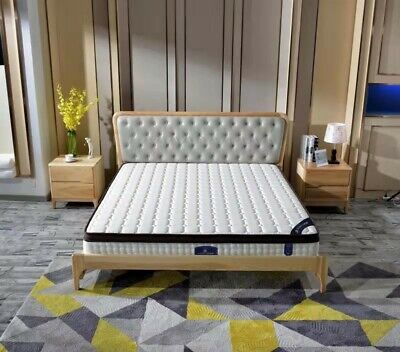Queen Double King Single Mattress Bed Euro top Independent Spring  Chiropractic