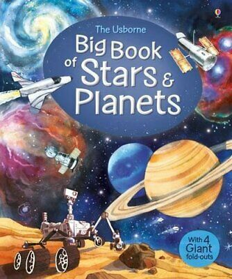 Big Book of Stars and Planets (Big Books) by Emily Bone Book The Cheap Fast Free