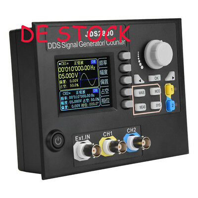 1PC Dual-channel Arbitrary Waveform DDS Function Signal Generator JDS2800 60MHz
