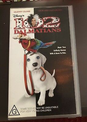 102 Dalmations Vhs Video Cassette Tape. 96 Minutes. New Sealed.