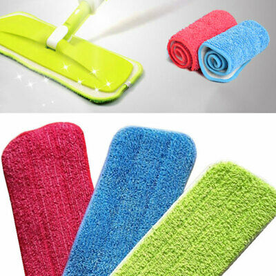 Microfiber Mop Heads Replacement Cloth Dust Cleaning Pad Washable Cloth Pads