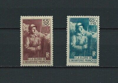 FRANCE - 1938 YT 386 à 387 - TIMBRES NEUFS** MNH LUXE