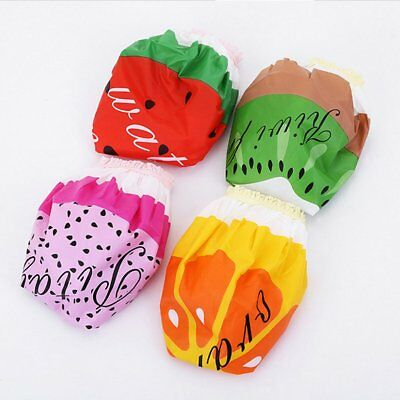 Fruit Shaped Waterproof And Dustproof Shower Cap Pvc Lady Bath Hat N7