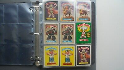 Garbage Pail Kids 1986 OS Series 3 Set of 82 cards + wrapper - Ex/Nm