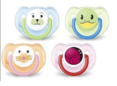 Philips Avent Animal Soother Twin Pack - 6-18m CHOICE OF DESIGN BOY/GIRL (A53)