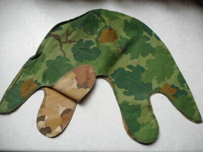 rare new 1970 DATED US ARMY USMC M1 HELMET COVER MITCHELL LEAF CAMO VIETNAM WAR