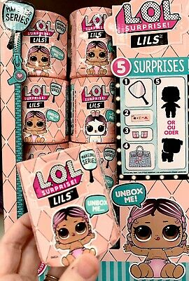 LOL Surprise Lils Makeover Series 5 Surprises Sisters Brothers Pets L.O.L. Dolls