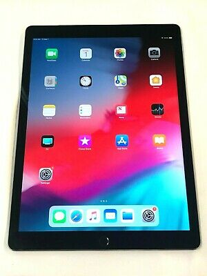 Apple iPad Pro 1st Gen. 128GB, Wi-Fi + Cellular (AT&T), 12.9in-Space Gray  51-3A