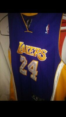 a8ee8e56173 KOBE BRYANT JERSEY Lakers mens small 24 purple - $30.00 | PicClick
