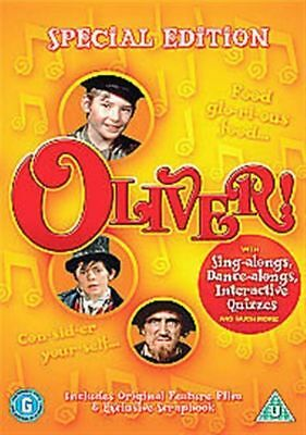 Oliver! Special Edition 1968 Ron Moody Oliver Reed Sony Uk Dvd & Scrapbook New
