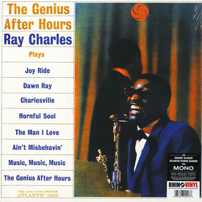 Ray Charles - The Genius After Hours (Mono) (Vinyl LP - 1961 - EU - Reissue)