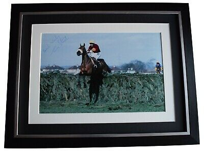 Tommy Stack Signed Framed Autograph 16x12 photo display Grand National Red Rum