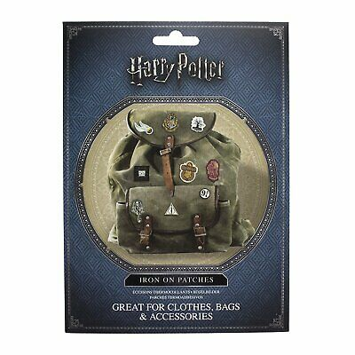 Harry potter 14 ecussons thermocollants Harry potter iron on patches V2 pack