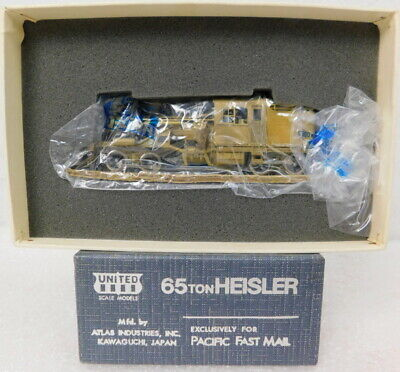 RARE United Pacific Fast Mail Atlas Brass HO Scale Heisler Logging Locomotive