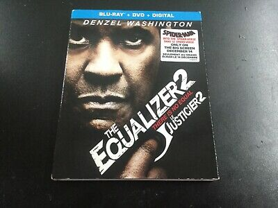 The Equalizer 2. ( Blu-Ray + Dvd + Digital   ) Brand New Sealed