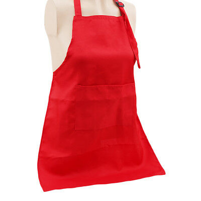 Children Apron Kids Plain Apron Kitchen Training Cooking Baking Craft Tool CB