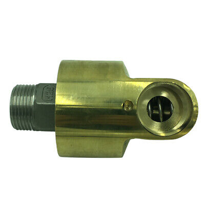 Swivel Air Line Connector 1-inch Pneumatic Fitting Screw Joint Adjustable