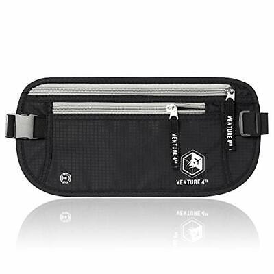 VENTURE 4TH Travel Money Belt – Concealed Travel Wallet & Passport Holder