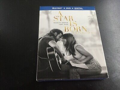 A Star New Born    ( Blu-Ray + Dvd +   Digital   ) Brand New Sealed