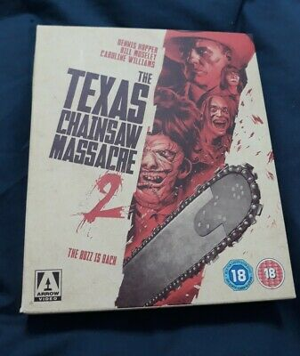 Blu Ray The Texas Chain Saw Massacre 2  As New