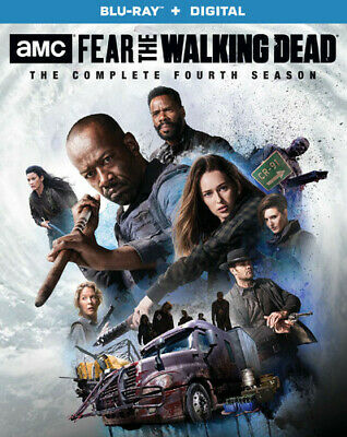 Fear the Walking Dead: The Complete Fourth Season [New Blu-ray] Boxed Set, Dol