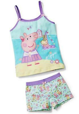 PEPPA PIG Licensed Size 3/4 Singlet and Briefs Set NEW