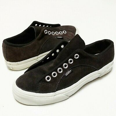 VANS LAMPIN MADE In USA Charcoal Suede Vintage 1990s