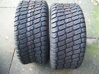 pair of 16x6.50-8nhs carlisle turf master lawnmower,golf buggy tyre
