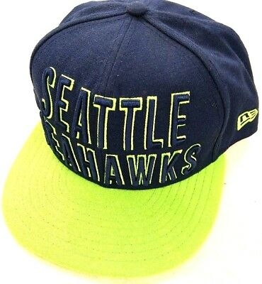 6abd5401b SEATTLE SEAHAWKS NFL Football New Era 9Fifty Heather Hype Snapback ...
