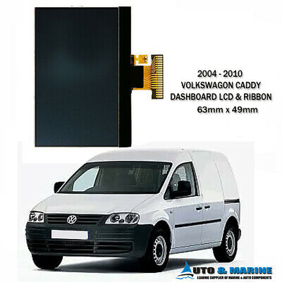 Vw Volkswagen Caddy  Dashboard Lcd Display & Ribbon  2004 - 2010.. New ...