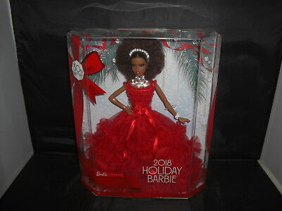 2018 Holiday Barbie-African American