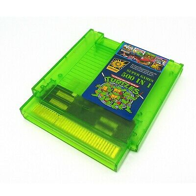Super Games 500 in 1 Nintendo NES Cartridge Multicart - Newest Version!