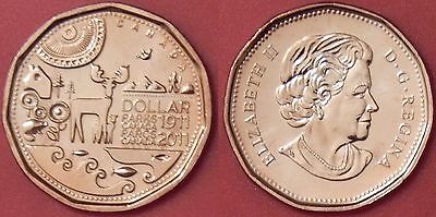 Brilliant Uncirculated 2011 Canada Parks 1 Dollar From Mint's Roll