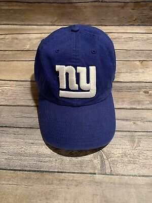 cheap for discount c1e90 6944c New York Giants 47 Brand Hat! Adjustable Blue Cap NFL NY Football Giants!