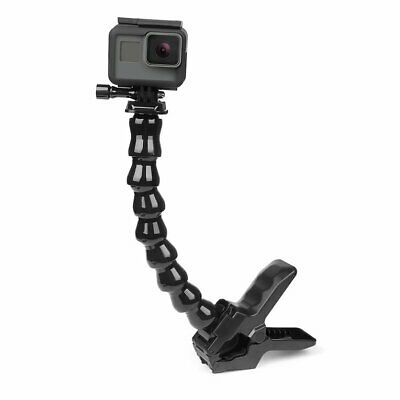 Flexible Clamp Mount 8 Section Adjustable Neck For Gopro For Hero 6/5 4 3/3 ❃⚡✤