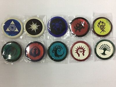 Return to Ravnica MTG Set of 10 Prerelease Kit Guild Pins New!
