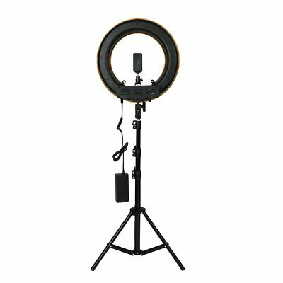 12inch Photography Studio Dimmable LED Ring Light with Holder Mount Stand YF