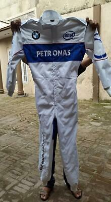 PETRONAS BMW Go Kart Race Suit CIK FIA Level 2 Approved with free gift Gloves